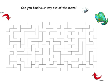 The Skipping Stone Maze Activity Sheet
