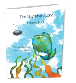 The Skipping Stone Coloring Book by Kelly Lenihan
